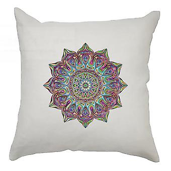 Colourful Cushion Cover 40cm x 40cm - Colourful Swirl