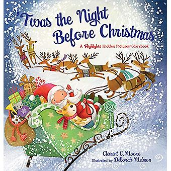 'Twas the Night Before Christmas - A Hidden Pictures Storybook by Clem