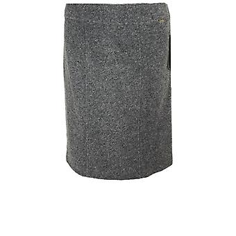 Steilmann Grey Knit Skirt