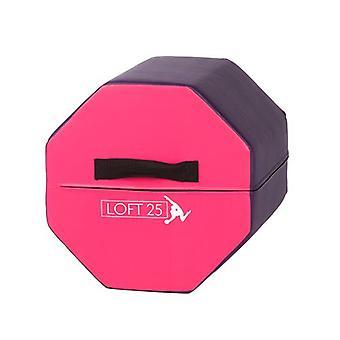Loft 25� Gymnastics Training 'Eliza' Purple/Pink Octagon Tumbler Barrel