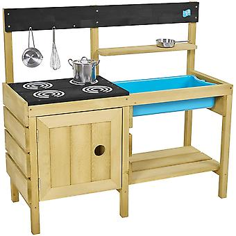 TP Toys Junior Chef Wooden Mud Kitchen