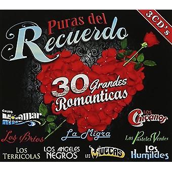 Eri Artist - Puras Del Recuerdo 30 [CD] USA tuonti