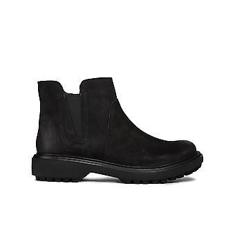 Geox d asheely e ankel støvler kvinders sorte 001