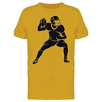Football Player In Action Tee Men's -Image by Shutterstock