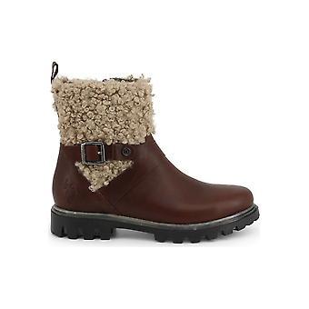 U.S. Polo Assn. - Shoes - Ankle boots - AVENE4072W9_LW1_DKBR-NAT - Women - saddlebrown,tan - EU 40