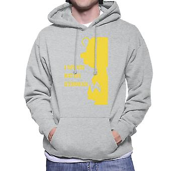 Peanuts Charlie Brown Super-herói Men's Hooded Sweatshirt