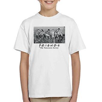 Friends TV-sarja New York Rakentaminen Photo Kid&s T-paita