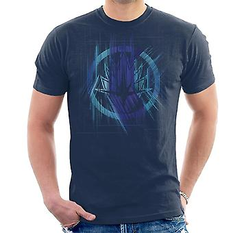 Marvel Avengers Infinity War Guardians Of The Galaxy Symbol Men's T-Shirt