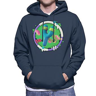 Angry Birds Slingshot 3D Badge Men's Hooded Sweatshirt