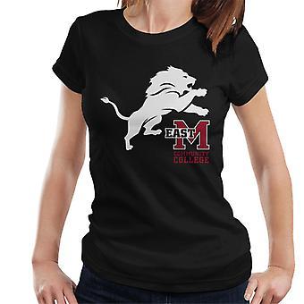 East Mississippi Community College lejon och logo kvinnor ' s T-shirt