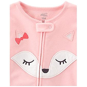 Simple Joys by Carter's Baby Girls' Toddler 3-Pack Flame Resistant Fleece Foo...