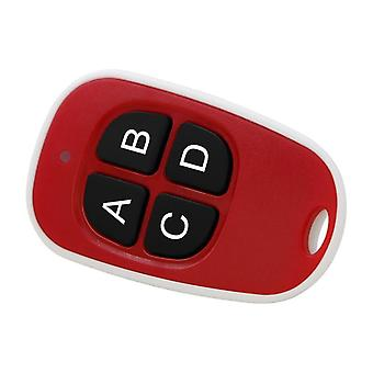 Water resistant remote control with lanyard for automatic doors - Red/white