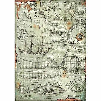 Stamperia Riisipaperi A3 Vene Project