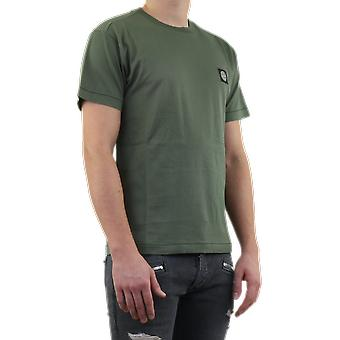 Stone Island Jersey Cotton T Pernament Green 7215242113V0058 Top