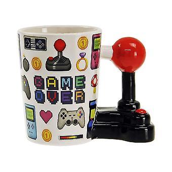Game Over, Mug - Joystick Pixel
