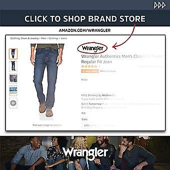Wrangler Authentics Men's Big & Tall Short Sleeve Utility Shirt, Grape Leaf M...