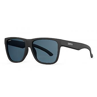 النظارات الشمسية Unisex Lowdown XL 2 الاستقطاب غير لامع أسود / رمادي
