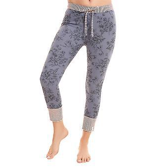 Rösch être heureux! 1202130-11999 Pantalon pyjama Smokey Blue Print