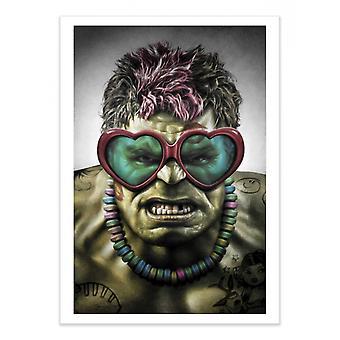 Art-Poster - Viaggio molto brutto - Alexandre Granger 50 x 70 cm