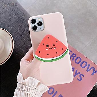 3d Cute Cartoon Fruit Avocado From Soft Silicone Phone Case
