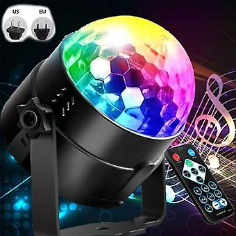 Sound Activated Rotating Disco Ball For  Dj Party Lights For Christmas,wedding