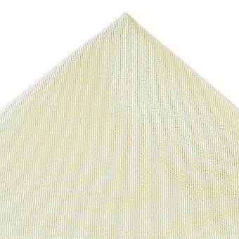 Bånd Planet Plain Ivory Silk Pocket Square lommetørklæde