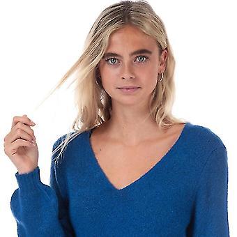 Women's Jacqueline de Yong Elanora Jumper Dress in Blue