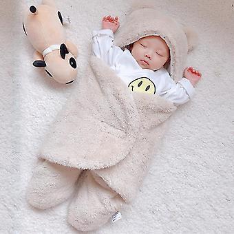 Soft Autumn Winter Sleep Fleece Blanket For Infant Baby
