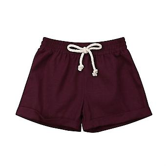 Infant Kids Harem Pants- Cotton & Linen Shorts
