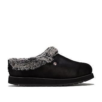 Women's Skechers Keepsakes R E M Slippers in Black