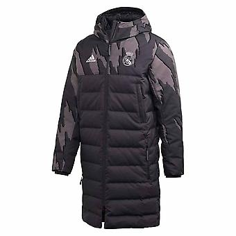 2020-2021 Real Madrid SSP Down Coat (gris oscuro)