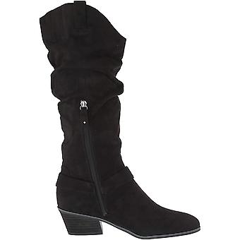 Dr. Scholl's Women's Shoes G6206F1 Suede Closed Toe Knee High Fashion Boots