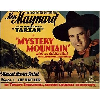 Mystery Mountain Movie Poster (17 x 11)