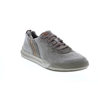Skechers Norsen Valo Herren grau Canvas Lifestyle Sneakers Schuhe