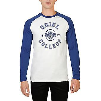 Oxford university roundneck long sleeves raglan t-shirt in contrasting colour - oriel-raglan-ml