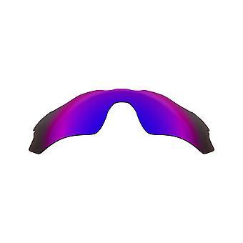 Polarized Replacement Lenses for Oakley Radar EV Path Frame Anti-Scratch Purple