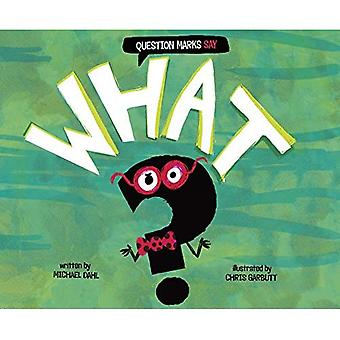 Question Marks Say What? (Word Adventures: Punctuation)