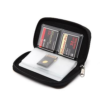 Memory Card Case Fits Up To 44x Sd, Sdhc, Micro Sd And 4x Cf - Holder