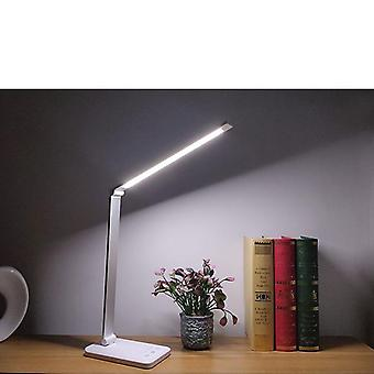 Stepless Dimmable Reading Desk Light, Foldable Rotatable Touch-switch Led