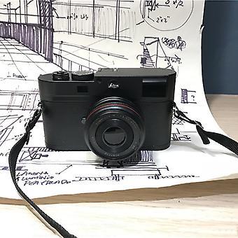 Ei-toimiva Fake Dummy DSLR Kamera Malli Photo Studio Rekvisiitta (musta)