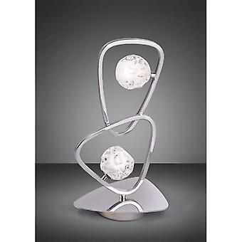 Lux 2-light G9 Table Lamp, Polished Chrome