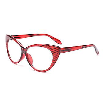 Cat Eye Optical Frames Vintage Eyeglasses Transparent Computer Fashion Brand