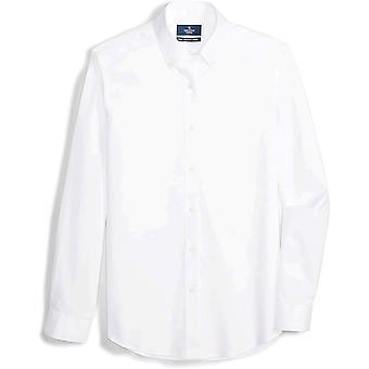 العلامة التجارية - Buttoned Down Men's مصممة تناسب زر طوق تحديد غير Ir ...
