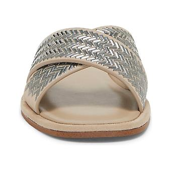 1. Estado de mujer Gelsey cuero abierto dedo casual slide sandalias