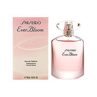 Shiseido nogensinde blomstre for kvinder 1,6 ounce eau de toilette spray