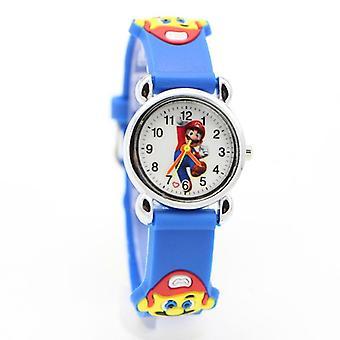3d Cartoon Super Mario Horloge