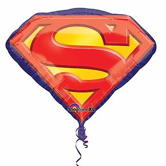 Anagram Superman Emblem Szuperalak ballon