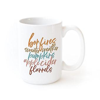 Bon Fires, Sweater, Weather-winter Coffee Mug