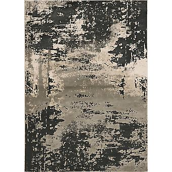"""LUNA 7121 6'7 X 9'6"""" / Tappeto a carbone d'argento"""