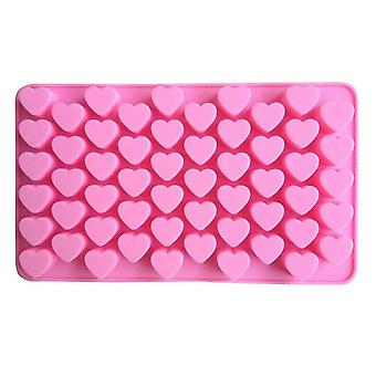 Silicone Simulation Toy Mold 18.5 x 11 x 1.5 cm Pink for Home (Heart Shape)